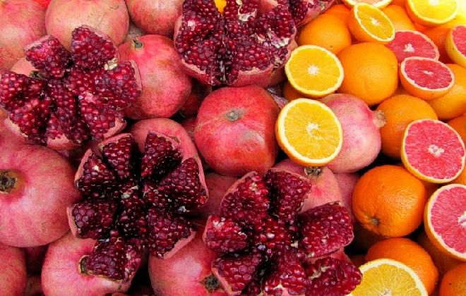 Отборные заморские фрукты здоровья