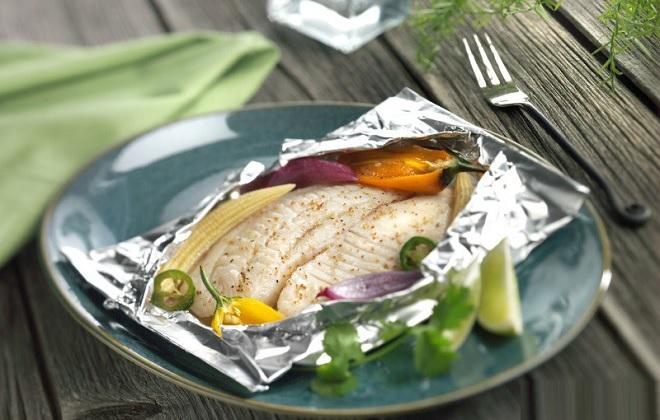 Рыба в пароварке при диете по группам крови