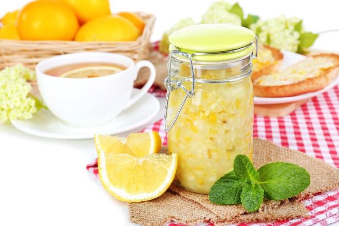 Лимонное варенье с мятой против холестериновых бляшек