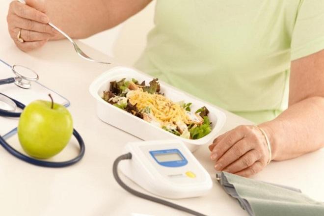Измерение давления перед приемом пищи