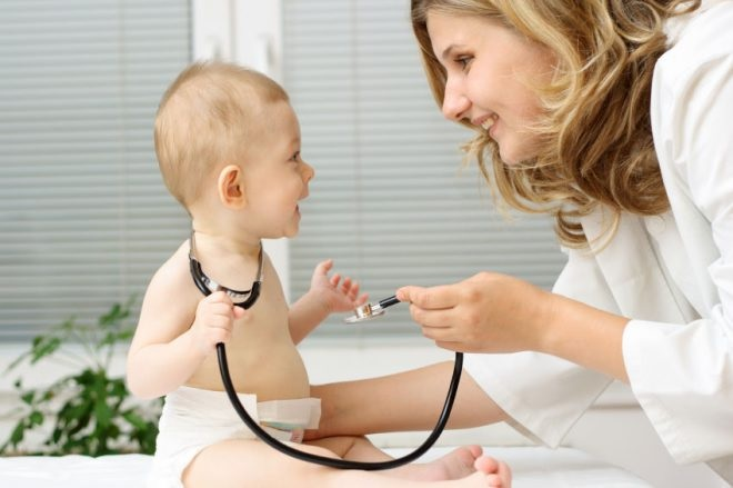 Прием детского педиатра
