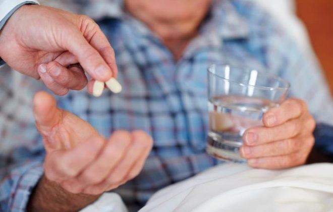 Прием таблеток перед сном