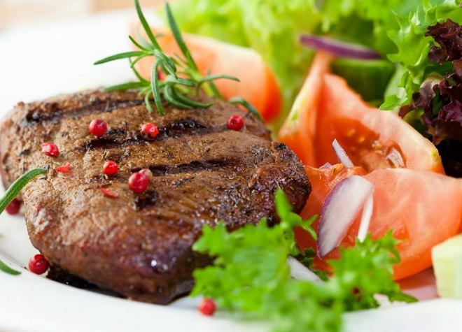 Диетическое мясо на пару