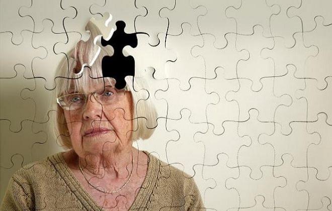 Пазл пожилая женщина