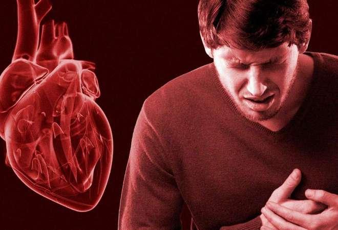 Инфаркт в сердце