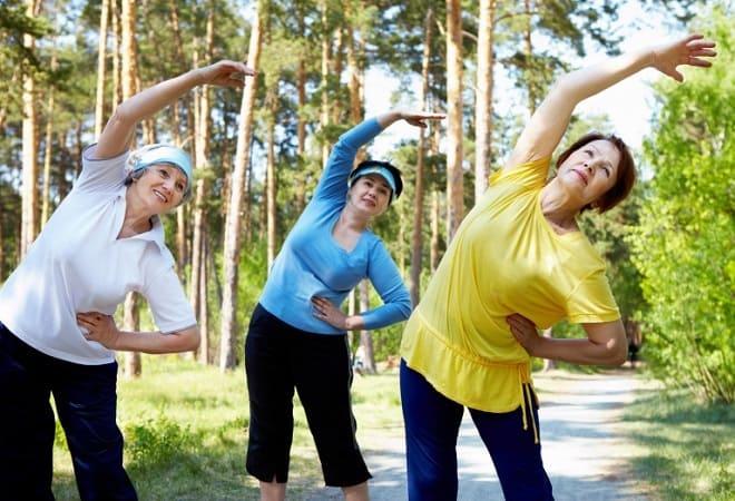 Упражнения после инфаркта