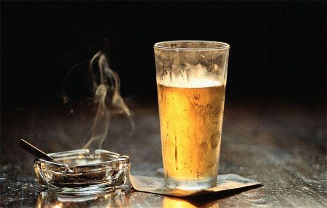 Курение и спиртное