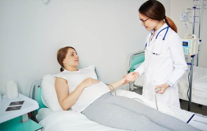 Первая помощь беременным