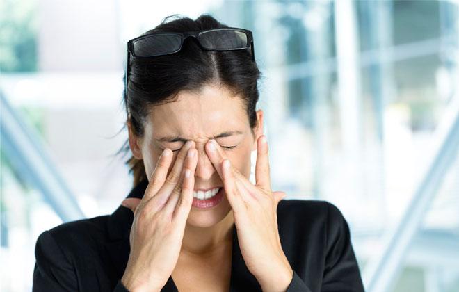 Проблемами со зрением