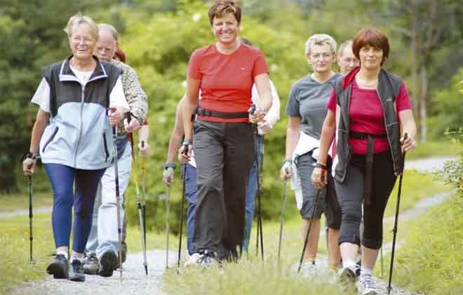Скандинавская ходьба с варикозом