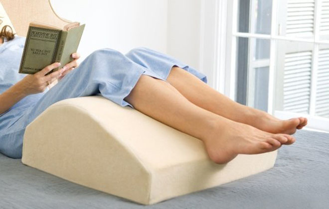 Выбор подушки при варикозе